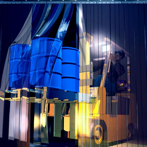 ПВХ завесы для складов